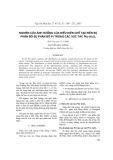 Nghiên cứu ảnh hưởng của điều kiện chế tạo đến sự phân bố Pt trong các xúc tác Pt/-Al2O3