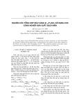 Nghiên cứu tổng hợp màu vàng Zr1-XPrxSiO4 sử dụng cho công nghệ sản xuất gạch men