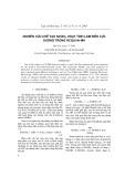 Nghiên cứu chế tạo Ni(OH)2 hoạt tính làm điện cực dương trong ắcqui Ni-MH