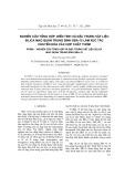 Nghiên cứu tổng hợp, biến tính và đặc trưng vật liệu silica mao trung bình SBA-15 làm xúc tác chuyển hóa các hợp chất thơm