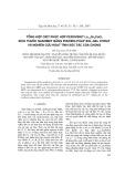 Tổng hợp oxit phức hợp perovskit La1-xSrxCoO3 kích thước nanomet bằng phương pháp Sol-Gel xitrat và nghiên cứu hoạt tính xúc tác của chúng