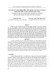Vai trò của Diatomite Phú Yên trong sản xuất xi măng Porland trên cơ sở Clinker Long Thọ