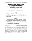 Ảnh hưởng của tải lượng NH4 + đến hiệu suất xử lý Amoni đối với nước ngầm tại khu vực Bồ Đề (Gia Lâm)