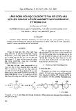 Lắng đọng hóa học cacbon từ pha hơi (CVD) vào vật liệu Graphit lỗ xốp nanomet tạo pyrographit tỷ trọng cao
