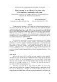 Nâng cao trị số octan của xăng Mogas 90 bằng phụ gia Ferrocene và Etanol