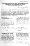 Phân tích Bisphenol A trong thực phẩm và bao bì chứa đựng thực phẩm bằng kỹ thuật sắc ký lỏng khối phổ LC-MS