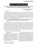 Phân tích hàm lượng Este tinh khiết trong Biodiesel bằng phương pháp sắc ký khí ghép khối phổ (GC/MSD)