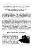 Nghiên cứu thành phần hóa học của loài Hải Miên Xestospongia Testudinaria thu thập tại Việt Nam