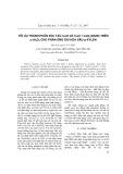 Tối ưu thành phần xúc tác CuO Và CuO + CeO2 mang trên Al2O3 cho phản ứng oxi hóa sâu p-XYLEN