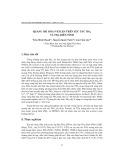 Quang Oxi hóa P-Xylen trên xúc tác TIO2 và TIO2 biến tính