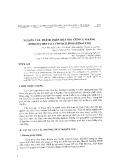 Nghiên cứu thành phần hóa học cùm cụm răng (Ehretia Dentata Courch, Boraginaceae)