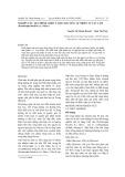 Nghiên cứu quy trình chiết tách chất màu tự nhiên từ cây cẩm (Peristriphe bilvalvis L. Merr.)