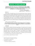 Phương pháp trắc quang xác định hàm lượng Thori trong mẫu địa chất với thuốc thử Ortho-ester tetra Azonpennyl Calixarene (TEAC)