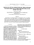 Nghiên cứu chế tạo compozit sinh học trên cơ sở nhựa polyeste không no gia cường bằng mat nứa lai tạo với mat thủy tinh
