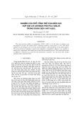 Nghiên cứu phổ tổng trở của điện tử hợp kim chì Antimon phủ Polyanilin trong dung dịch Axit H2SO4