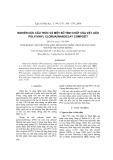 Nghiên cứu cấu trúc và một số tính chất của vật liệu poly(vinyl clorua) nanoclay compozit