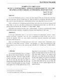 Nghiên cứu chiết xuất Rutin và Sitosterol -O-D-Glucopyranosit từ cây chó đẻ (Phyllanthus niruri l.) ở tỉnh Đồng Tháp - Việt Nam