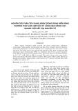 Nghiên cứu phân tích dạng Asen trong rong biển bằng phương pháp liên hợp sắt hóa lỏng hiệu năng cao-quang phổ hấp thụ nguyên tử
