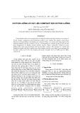 Cotton luồng và vật liệu compozit sợi cotton luồng