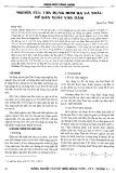 Nghiên cứu tận dụng rơm rạ và trấu để sản xuất ván dăm