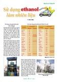 Sử dụng ethanol làm nhiên liệu