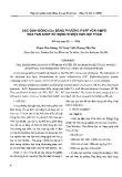 Xác định đồng (Cu) bằng phương pháp von-ampe hòa tan anot sử dụng vi điện cực sợi than