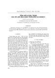 Tổng hợp đặc trưng của vật liệu mao quản trung bình Al-Si-MCM-41
