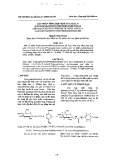 Góp phần tổng hợp một số ankyl 4-(Glucopyranozyl thioureido) benzoat