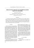 Nâng cao hoạt tính xúc tác và độ bền của ziconi sunfat có chứa nhôm