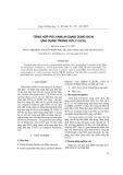 Tổng hợp Polyanilin dạng dung dịch ứng dụng xử lý Cr(VI)