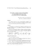 Tổng hợp, cấu trúc và hoạt tính sinh học của một số hợp chất chứa vòng 1,2,4-TRIAZOLO-[3,4-b]-3,4-Thiađiazol
