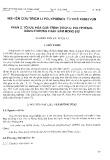 Nghiên cứu trích li polyphenol từ chè xanh vụn - Phần 2: Tối ưu hóa quá trình trích li polyphenol bằng phương pháp hàm mong đợi
