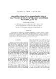 Ảnh hưởng nhiệt độ nung lên cấu trúc và hoạt động của hệ xúc tác niken nhôm trong phản ứng C3H8-SCR-NO