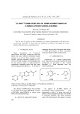 1H- and 13C-nmr spectra of some azomethines of 5-amino-2-phenylindole series