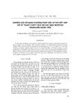 Nghiên cứu sử dụng phương pháp sắc ký khí kết hợp với kỹ thuật chiết tách để xác định morphin trong mẫu nước tiểu