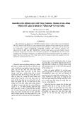 Nghiên cứu động học hấp phụ Phenol trong pha lỏng trên vật liệu Si-MCM-41 tổng hợp từ vỏ trấu