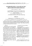 Xác định nồng độ Rb, Sr trong mẫu địa chất bằng phương pháp huỳnh quang tia X