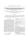 Ảnh hưởng của độ dày màng đến sự khâu mạng quang của hệ hecxaneđiol điacrylat-ankyt-dop