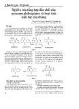 Nghiên cứu tổng hợp dẫn chất của pyranonaphthoquinon và hoạt tính sinh học của chúng