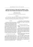 Khảo sát cấu trúc và tính chất của gốm Ba1-xPbTiO3 tổng hợp theo phương pháp đồng kết tủa cacbonat