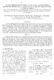 Nghiên cứu ảnh hưởng của nhiệt độ đến quá trình hòa tách vàng từ rác thải điện từ sử dụng thiosulfate trong môi trường ammoniac với xúc tác đông (II)