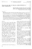 Thành phần hóa học của tinh dầu lá trầu (Piper betle L.) trồng tại Hải Dương
