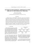 Khả năng polyme hóa trong điện hóa a-aminonaphtalen trên điện cực PT và thép không gỉ 316L trong H2SO4