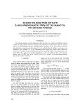 So sánh khả năng phân hủy natri 2,4-điclophenoxiaxetat trên xúc tác quang TiO2 với ánh sáng tử ngoại