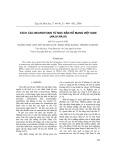 Tách các neurotoxin từ nọc rắn hổ mang Việt Nam (naja naja)