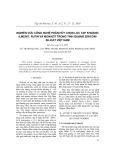 Nghiên cứu công nghệ phân hủy chọn lọc tạp khoáng Ilmenit, rutin và monazit trong tinh quặng ziriconi silicat Việt Nam