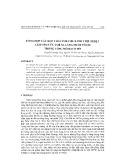 Tổng hợp các hợp chất polyme xanh chịu nhiệt làm chất ức chế sa lắng muối vô cơ trong vùng mỏ Bạch Hổ