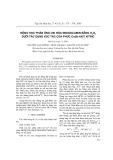 Động học phản ứng oxi hóa indigocamin bằng H202 dưới tác dung xúc tác của phức Co(II)-axit xitric