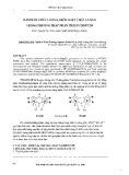 Đảm bảo chất lượng, kiểm soát chất lượng trong phương pháp phân tích PCDD/PCDF. The QA/QC in the analysis of PCDDs/ PCDFs