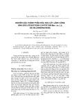 Nghiên cứu thành phần hóa học cây Lãnh Công hình đầu (Fissistigma Capitatum Merr. ex. Li), họ Na (Annonaceae)